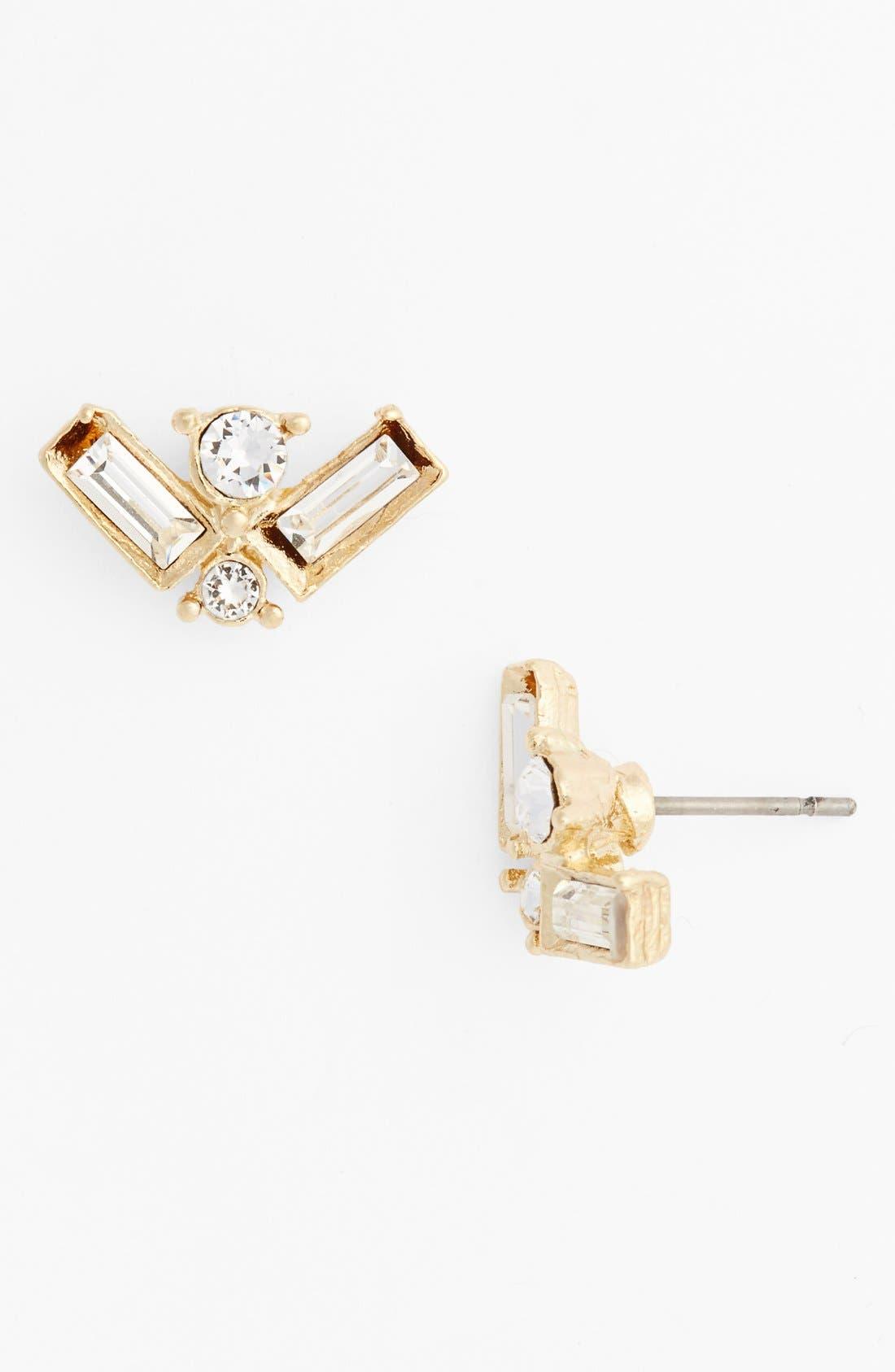 Alternate Image 1 Selected - Bonnie Jonas Crystal Vintage Inspired Earrings