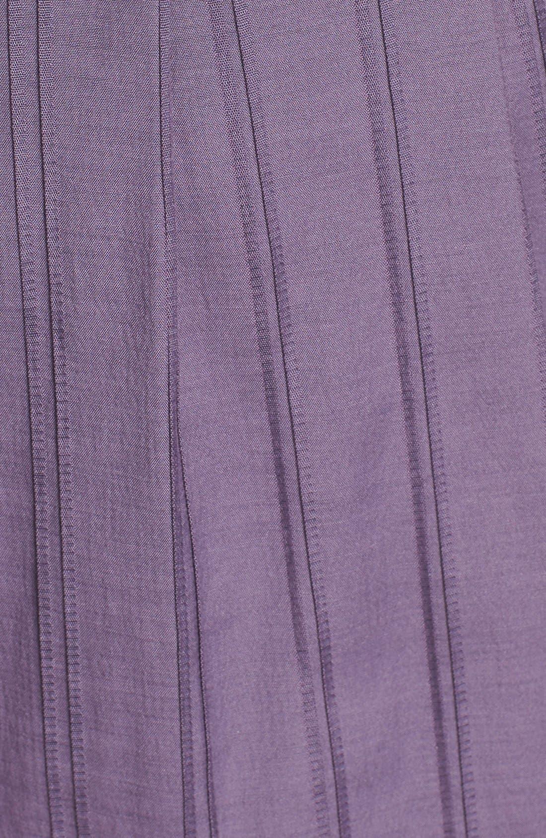 Alternate Image 4  - Ivy & Blu Pintuck Fit & Flare Tank Dress