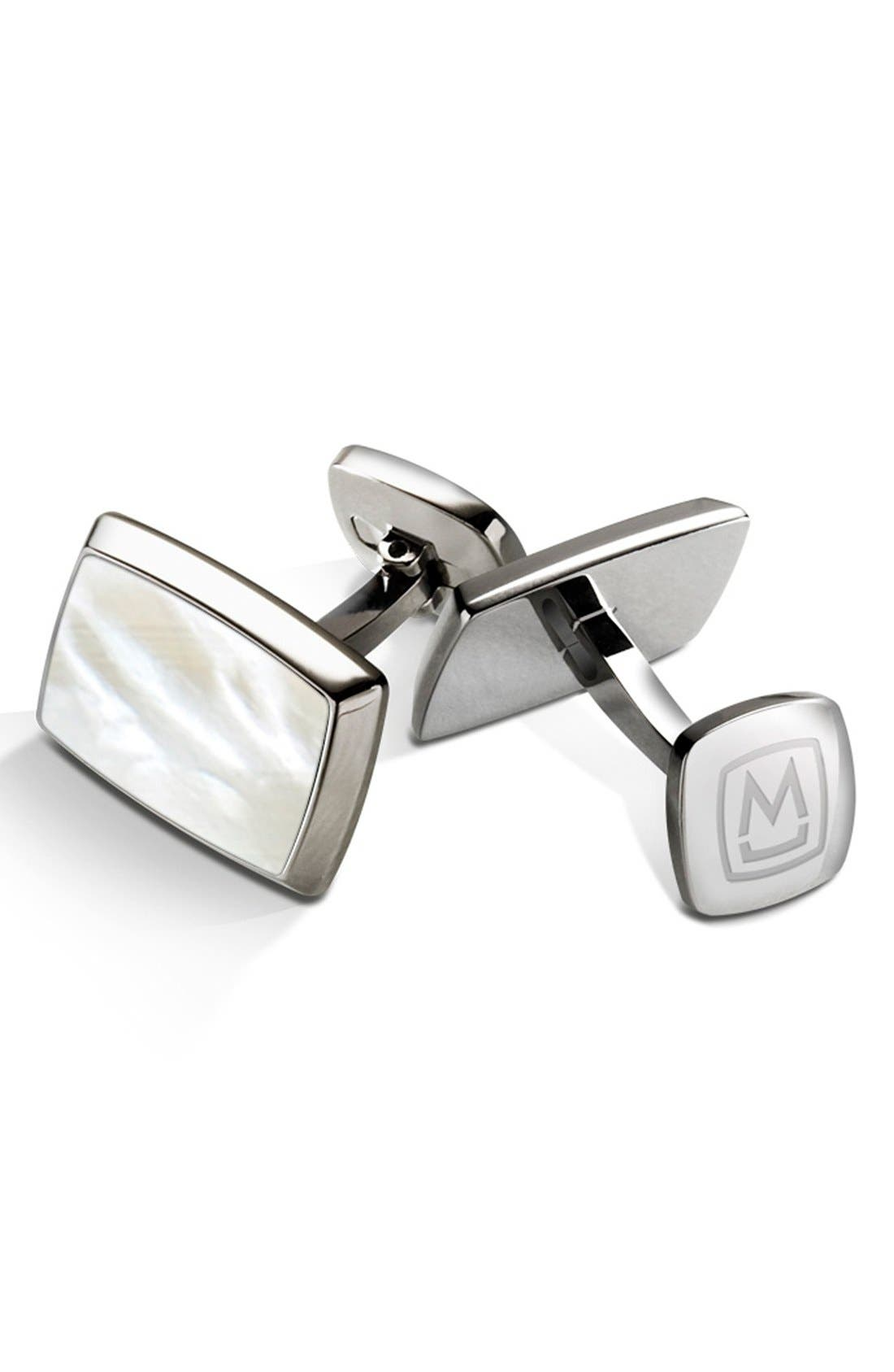 M-CLIP<SUP>®</SUP> Stainless Steel Cuff Links