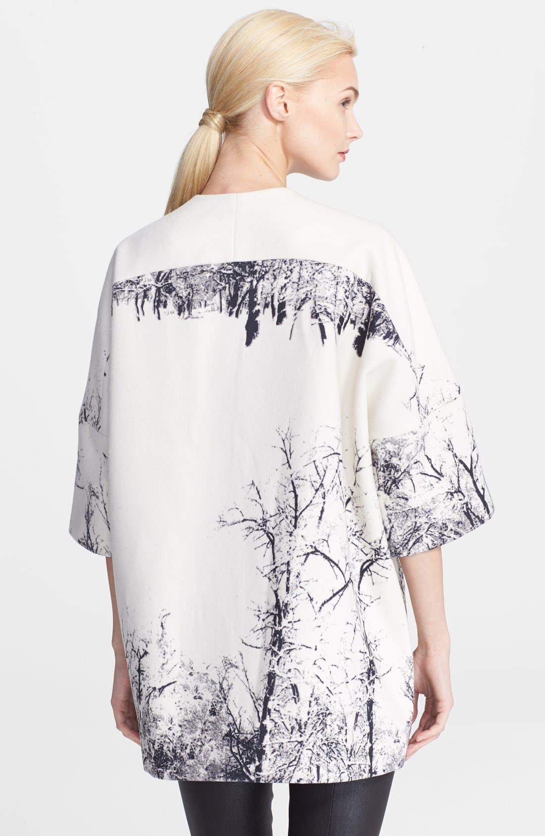 Alternate Image 2  - Helene Berman Tree Print Kimono Coat