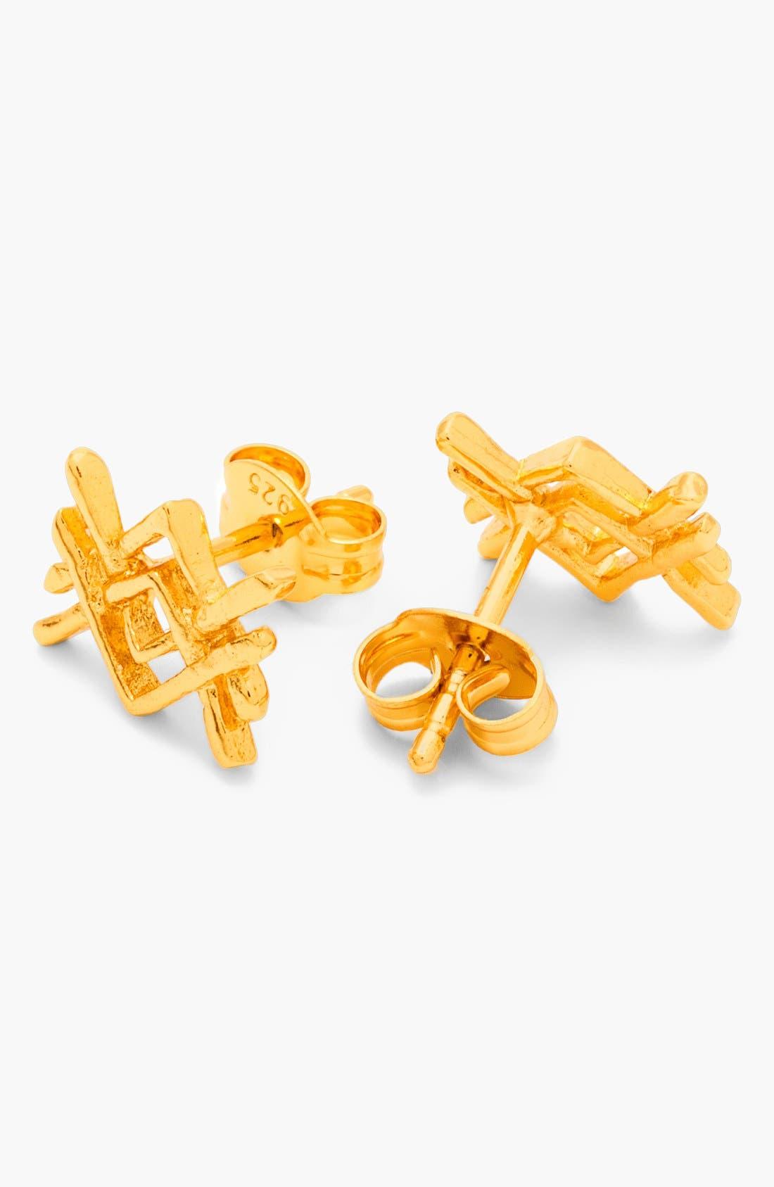 Alternate Image 2  - gorjana 'Mesa' Stud Earrings