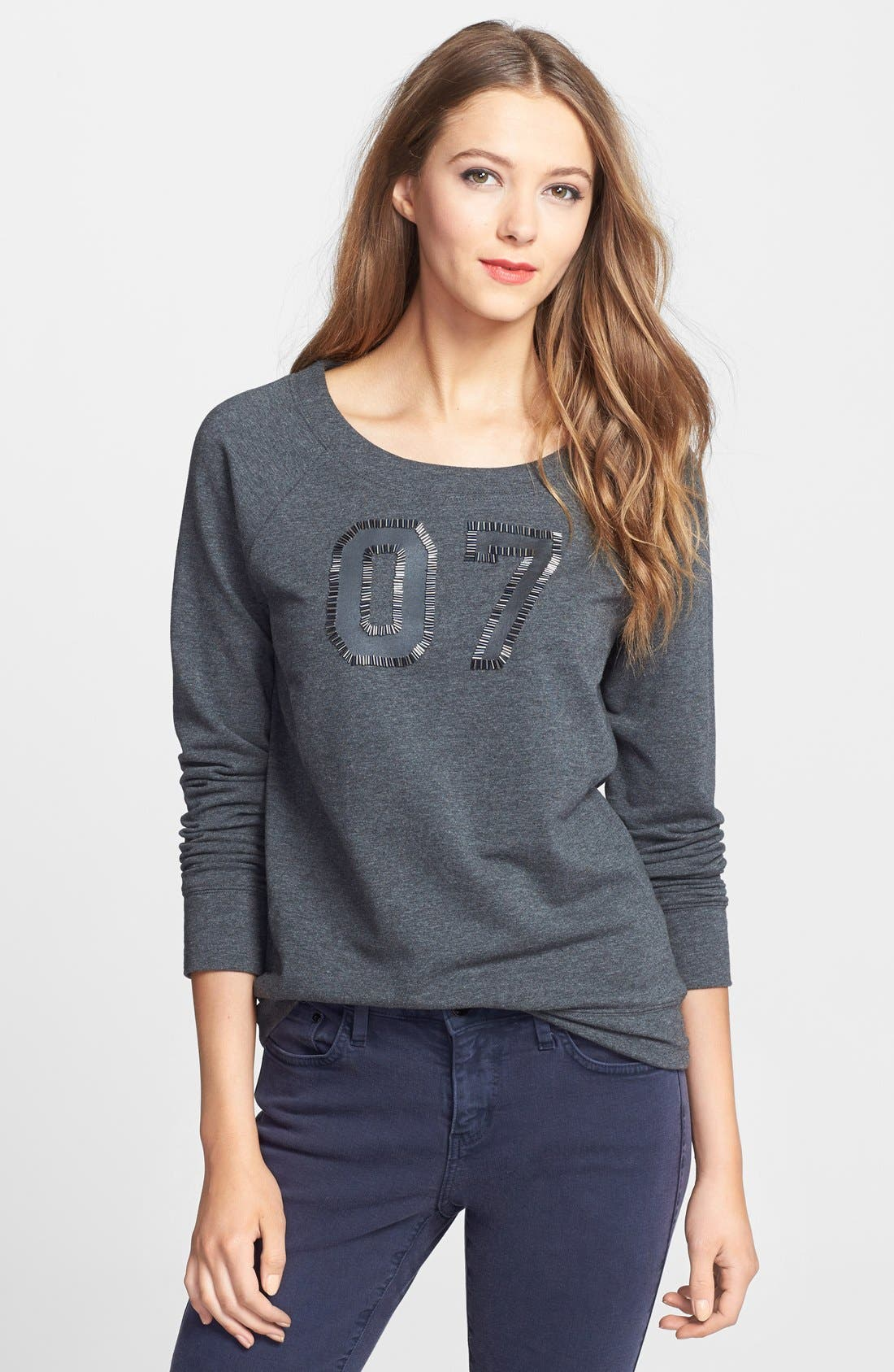 Alternate Image 1 Selected - Halogen® Embellished Sweatshirt