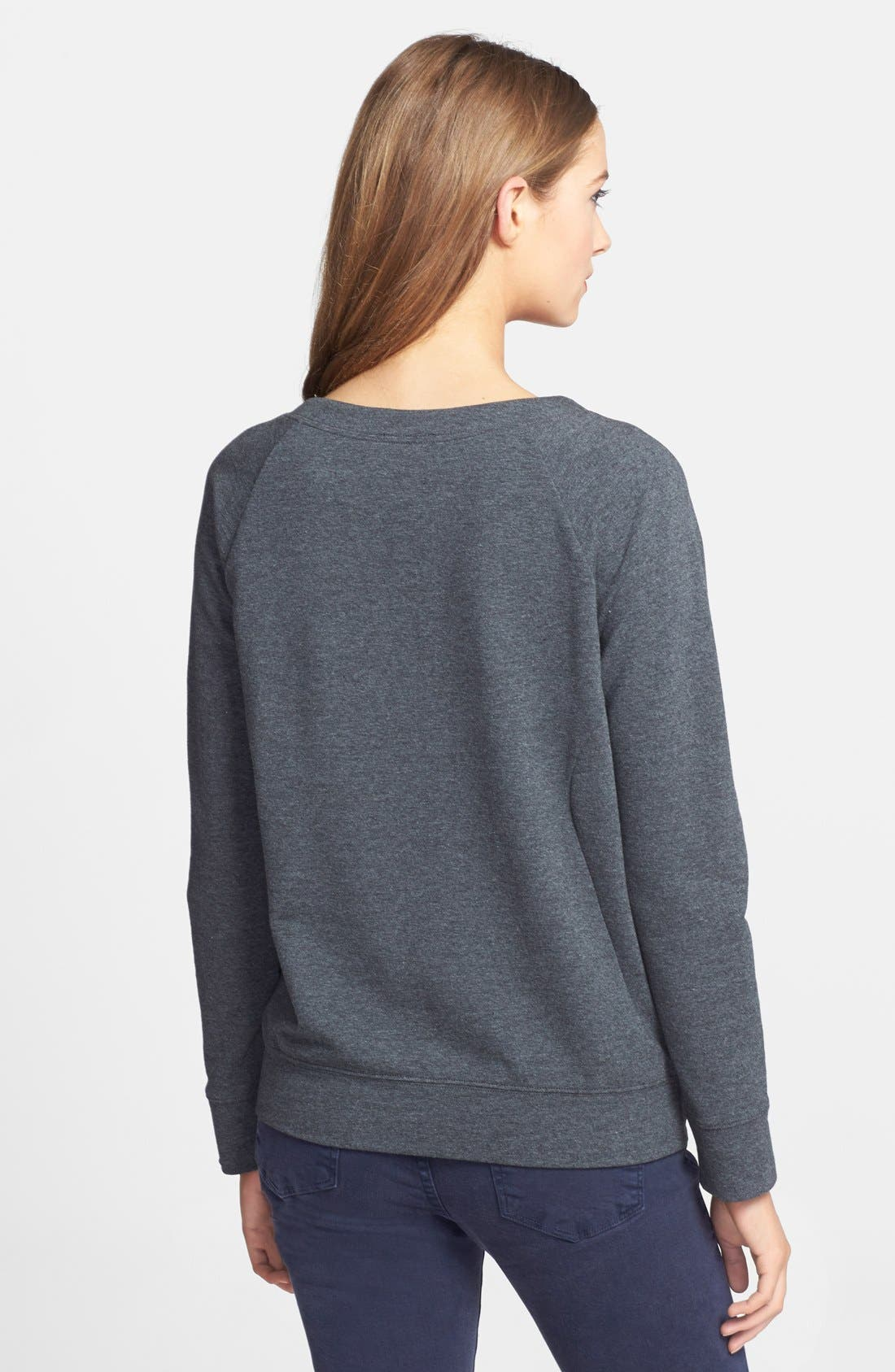 Alternate Image 2  - Halogen® Embellished Sweatshirt