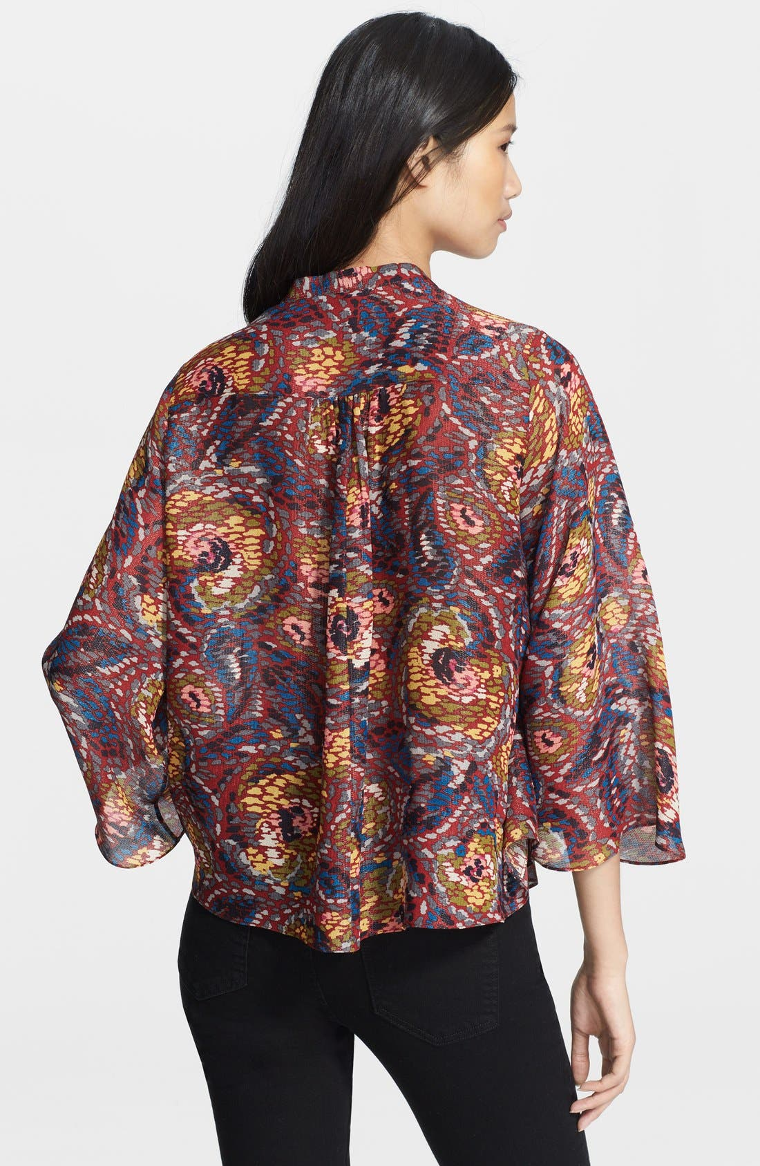 Alternate Image 2  - Elizabeth and James 'Tokyo' Kimono Sleeve Top
