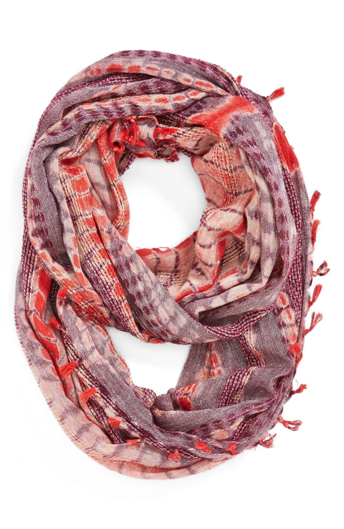 Main Image - Collection XIIX 'Tie Dye Scaled' Infinity Scarf