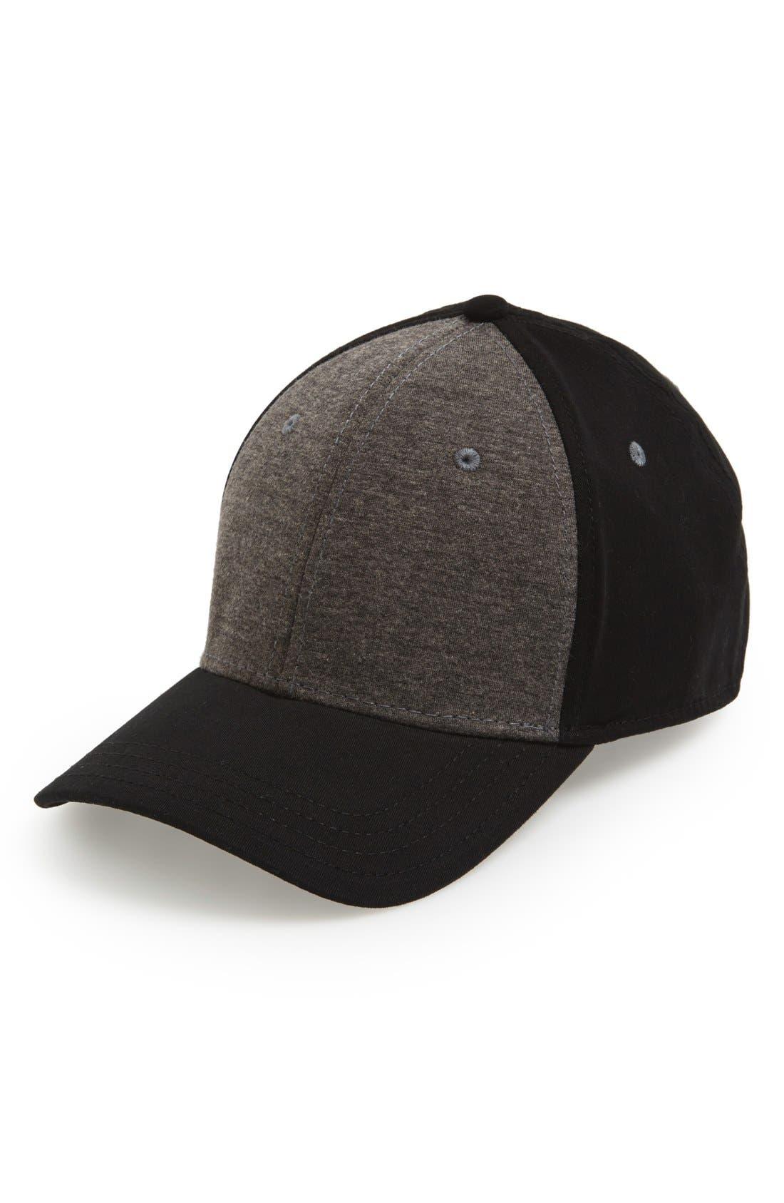 Gents Jersey Knit Baseball Cap