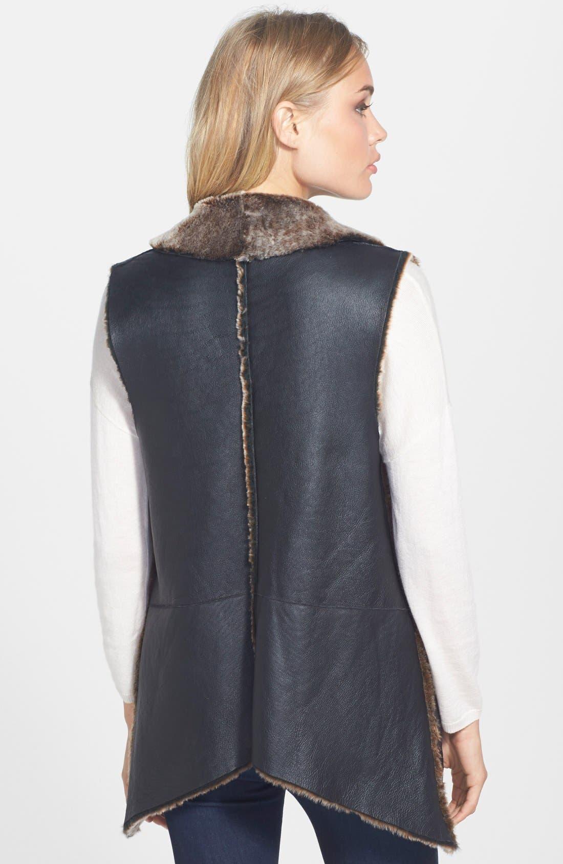 Alternate Image 2  - Truth & Pride Genuine Shearling Vest