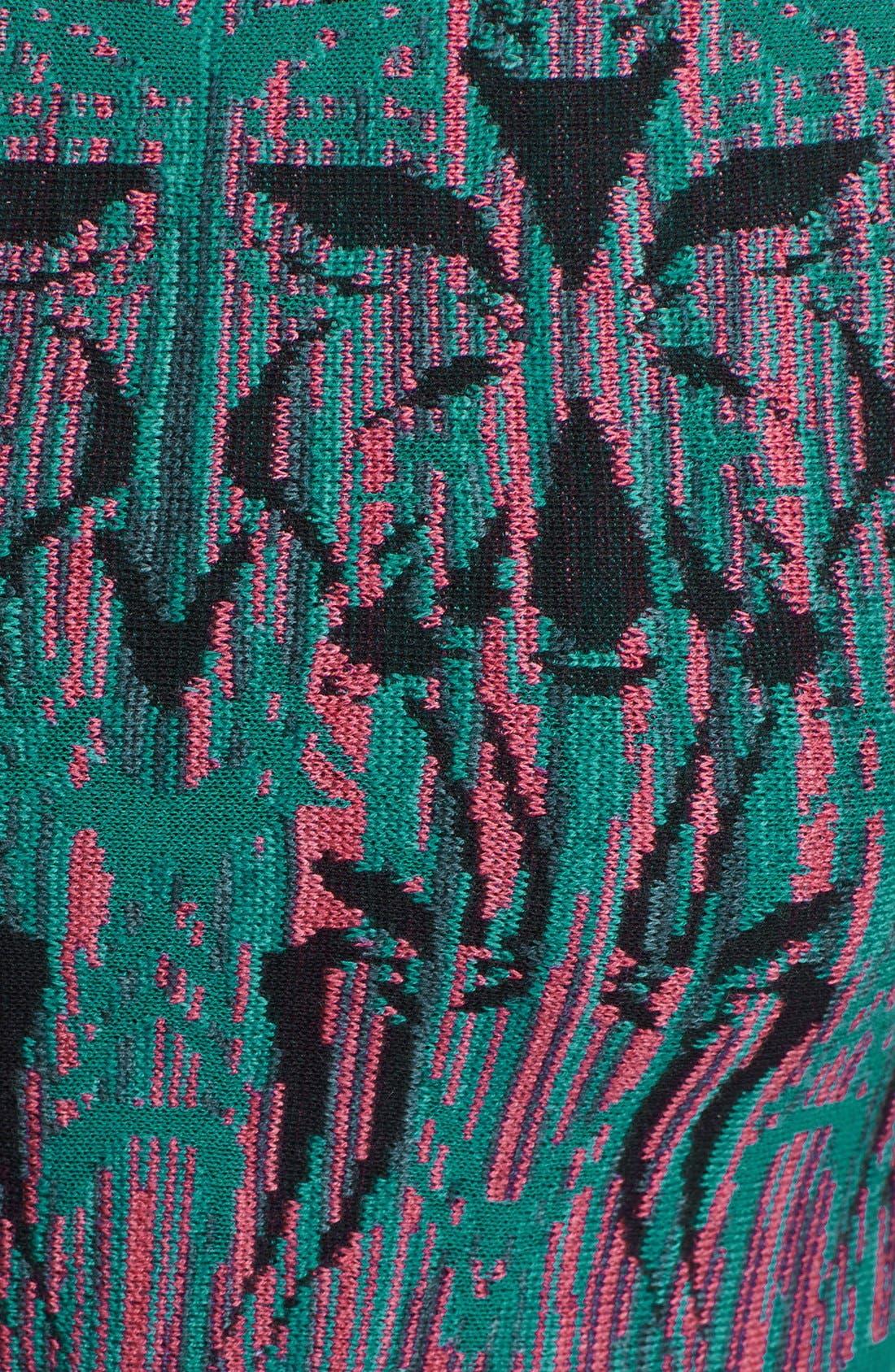 Alternate Image 3  - M Missoni 'Fleur de Lis' Jacquard Top
