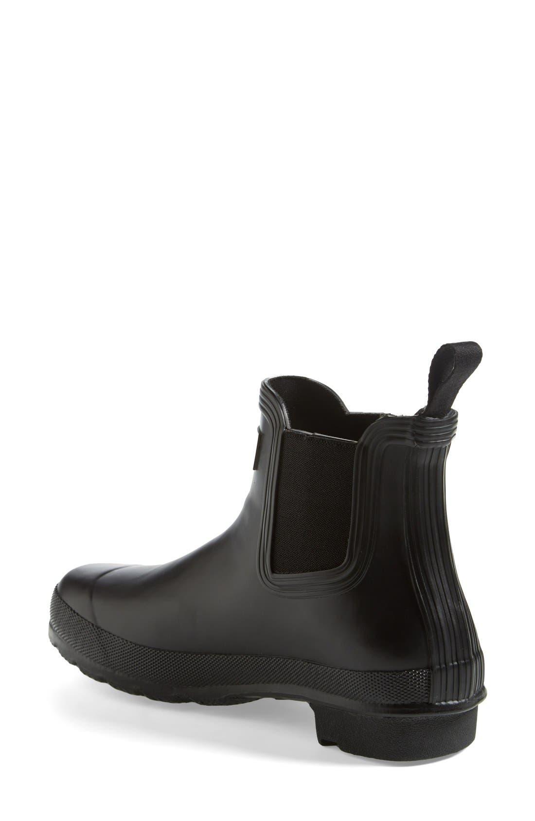 Alternate Image 2  - Hunter 'Original' Chelsea Rain Boot (Women)