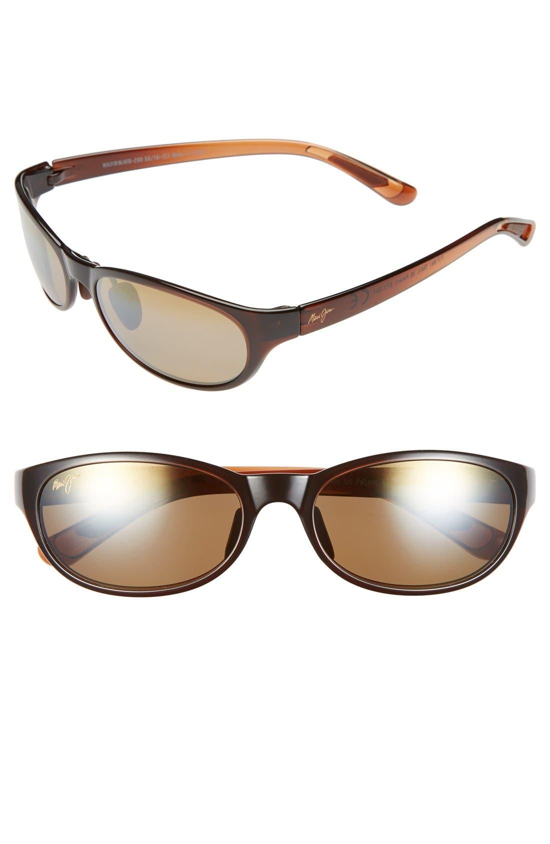 Alternate Image 1 Selected - Maui Jim Pipiwai Trail 56mm Polarized Sunglasses