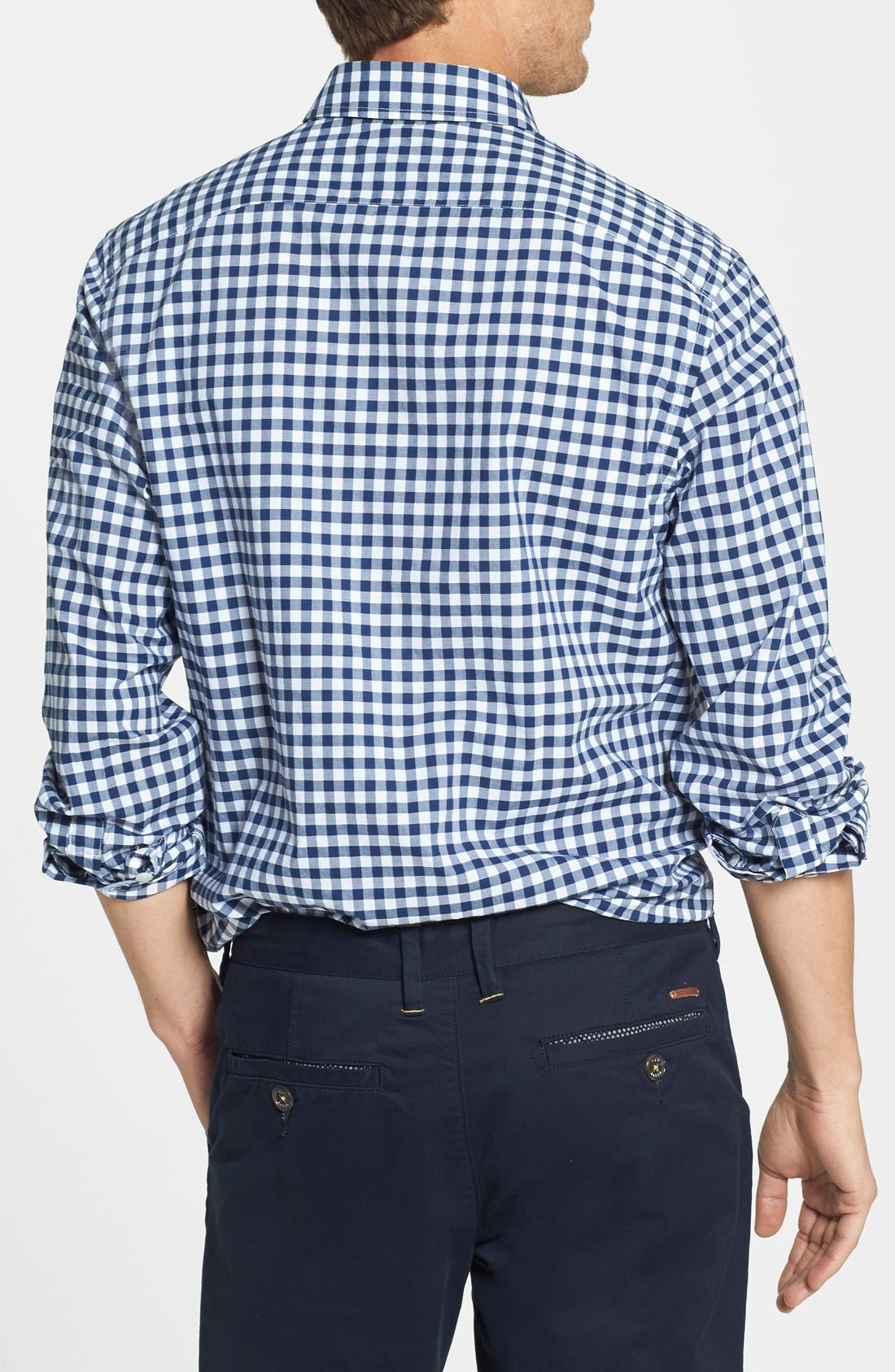 Alternate Image 2  - Bonobos 'Ging Crosby' Gingham Standard Fit Sport Shirt