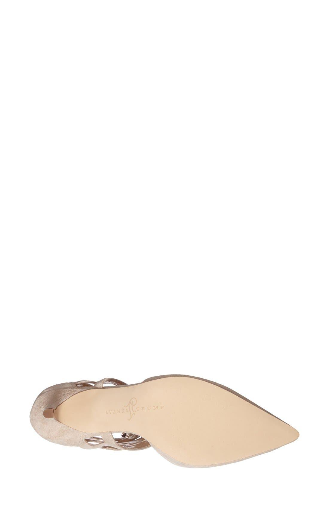 Alternate Image 4  - Ivanka Trump 'Neci' Pointy Toe Pump (Women)