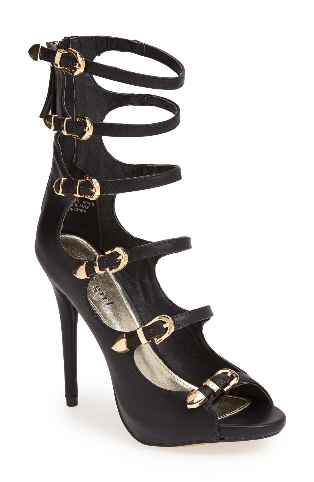 Alternate Image 1 Selected - ZiGi girl 'Idalle' Strappy Sandal (Women)