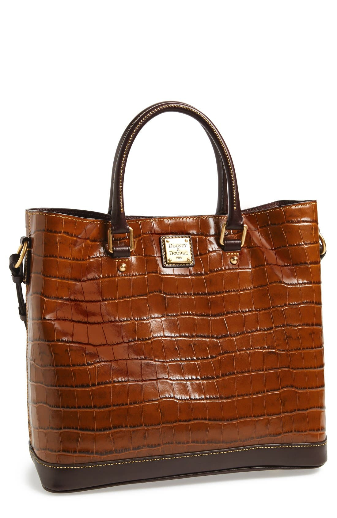 Main Image - Dooney & Bourke 'Chelsea' Croc Embossed Leather Tote
