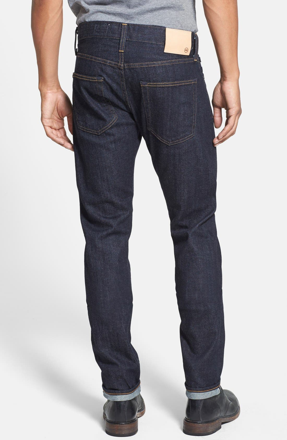 Alternate Image 2  - AG 'Dylan' Skinny Fit Selvedge Jeans (Alpha)
