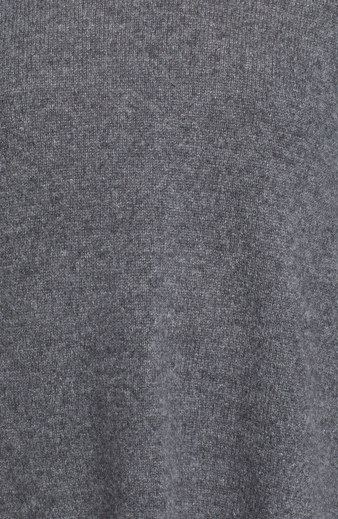 'Ahiga' Turtleneck Sweater,                             Alternate thumbnail 3, color,                             Medium Grey