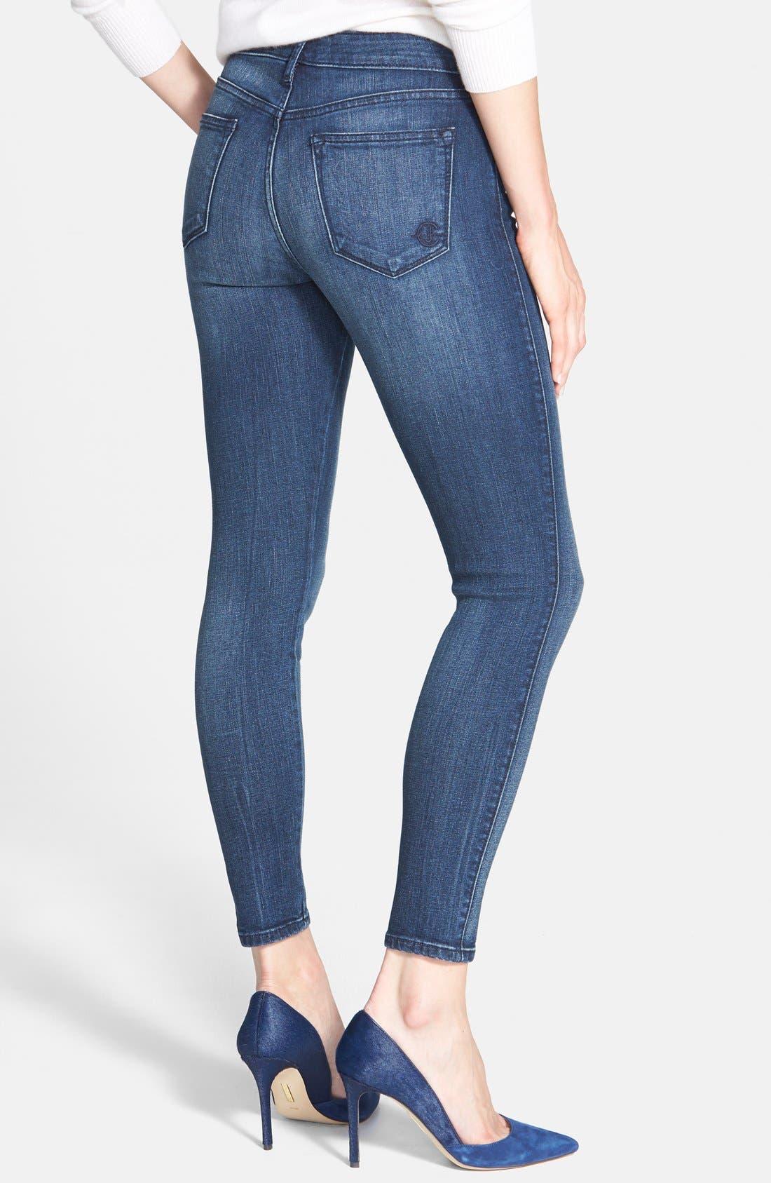 Alternate Image 2  - CJ by Cookie Johnson 'Wisdom' Stretch Ankle Skinny Jeans (Mills)