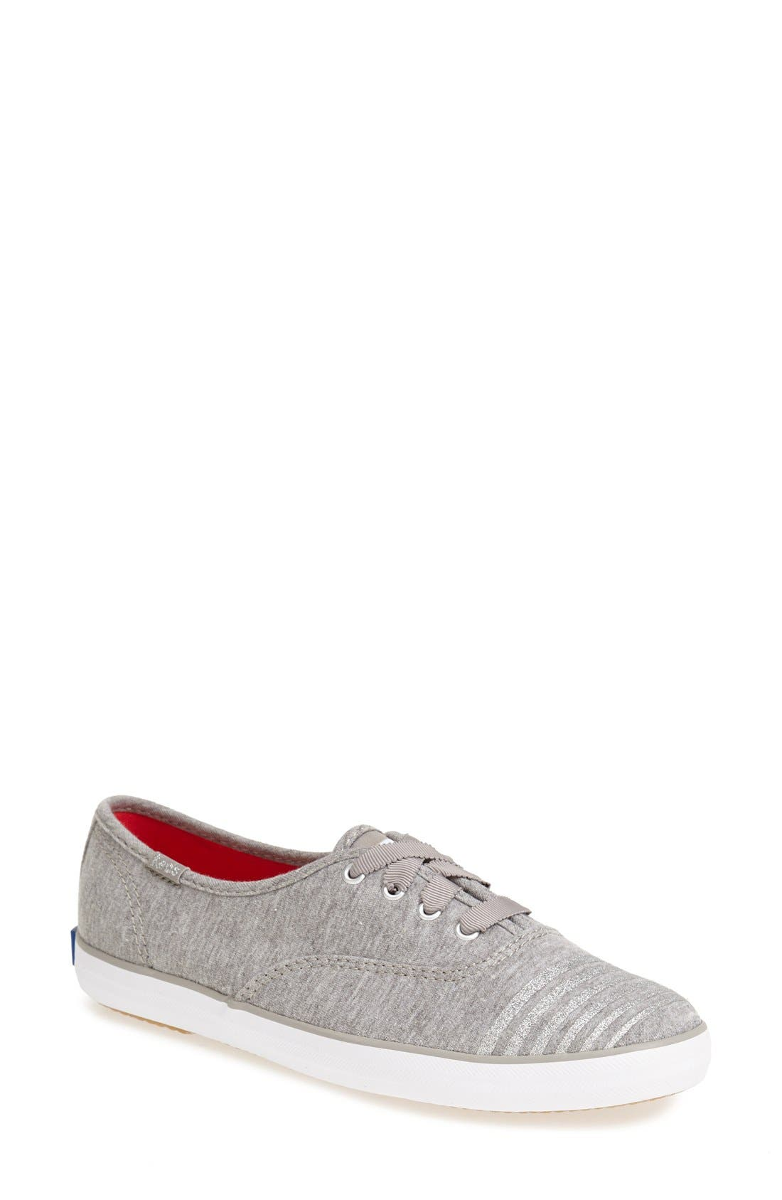 Alternate Image 1 Selected - Keds® 'Champion - Jersey Glitter' Sneaker (Women)