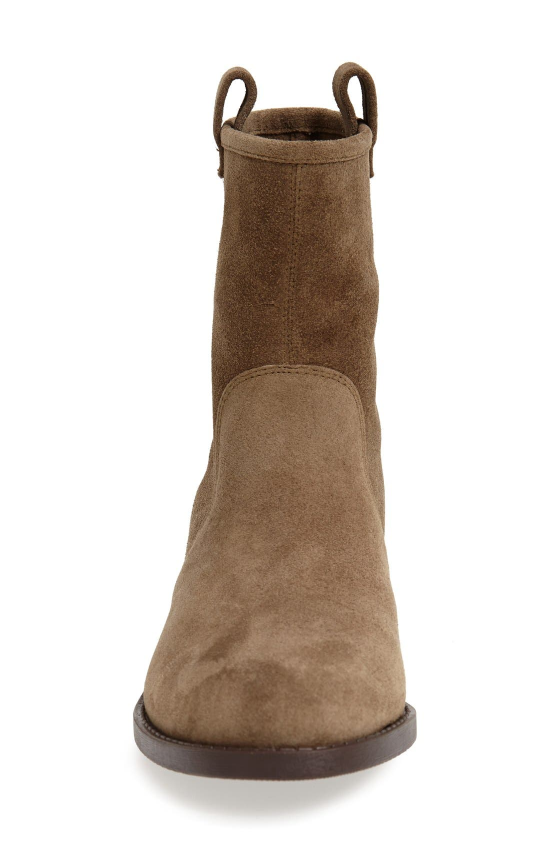 'Natasha' Boot,                             Alternate thumbnail 3, color,                             Army Suede