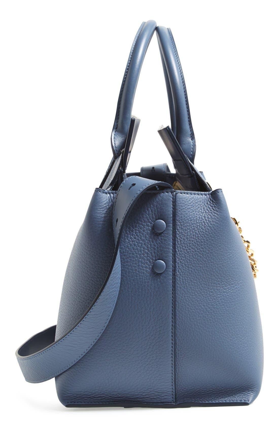 Alternate Image 5  - Chloé 'Cate - Medium' Leather Satchel