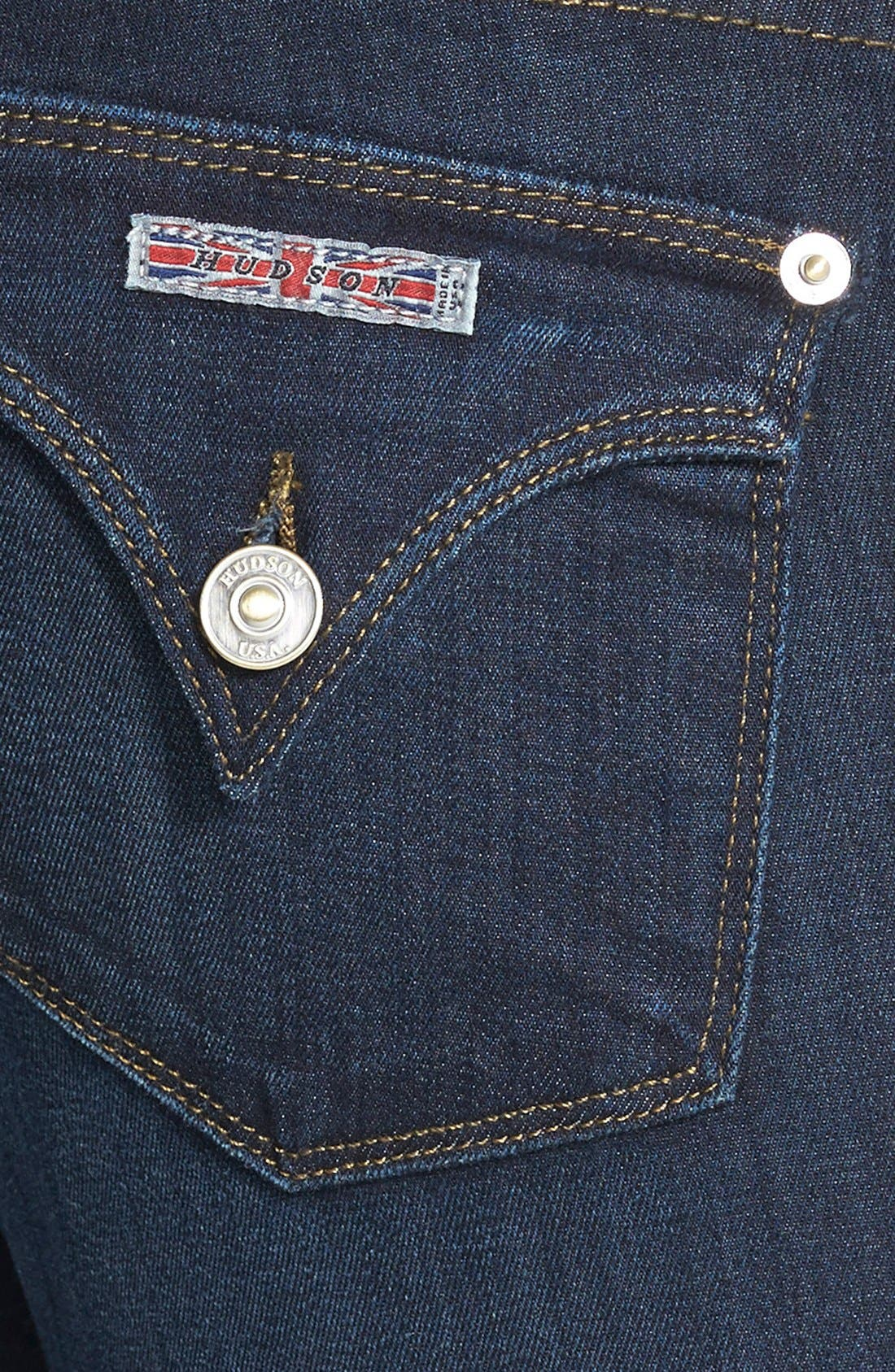 Alternate Image 3  - Hudson Jeans 'Beth' Baby Bootcut Jeans (London Calling)
