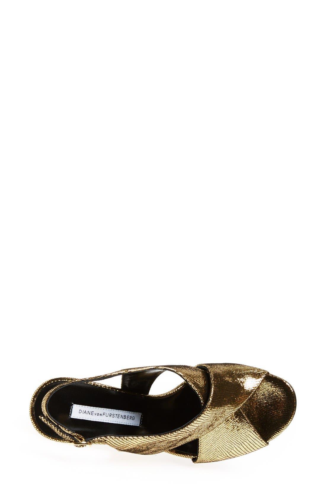 Alternate Image 3  - Diane von Furstenberg 'Vick' Sandal (Women)