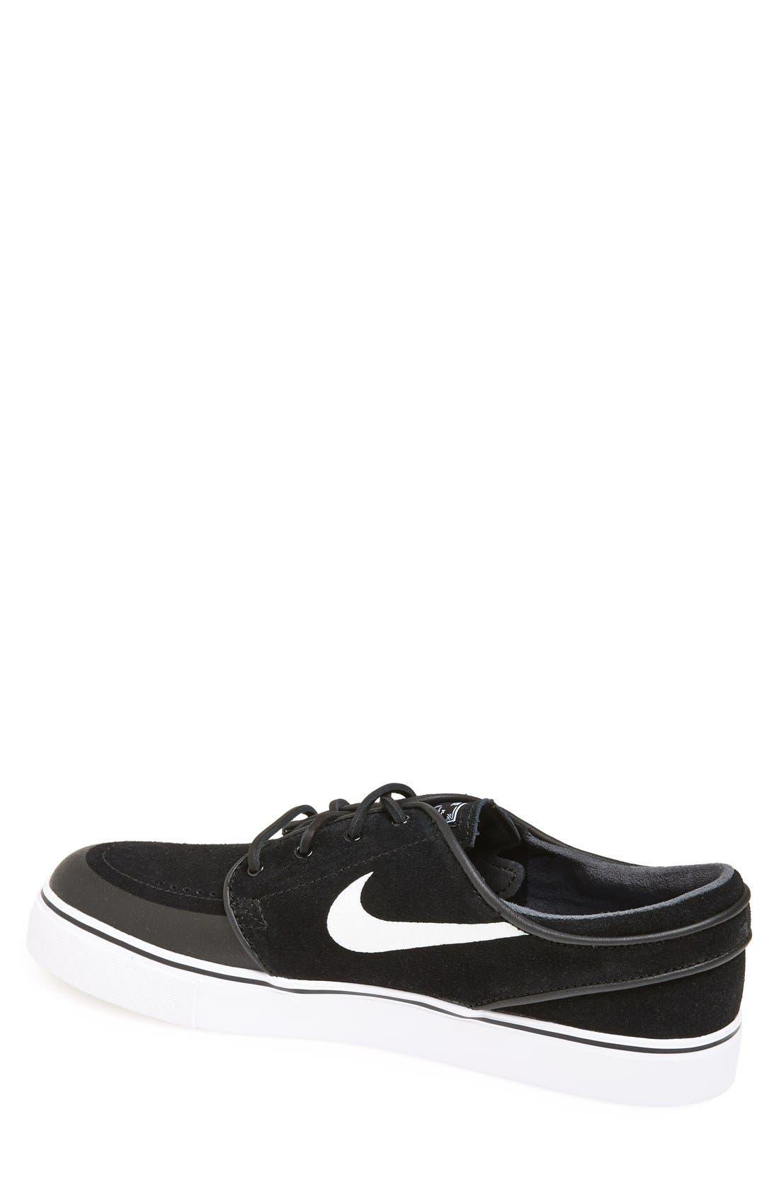Alternate Image 2  - Nike 'Zoom - Stefan Janoski Premium SE SB' Skate Shoe (Men)