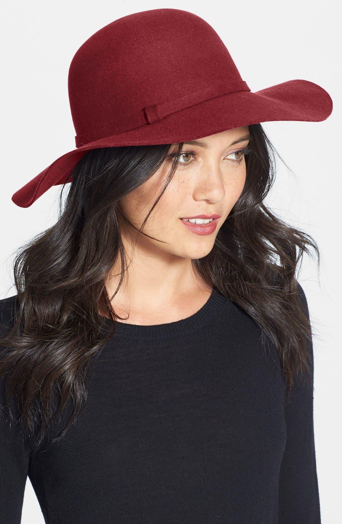 Main Image - Phase 3 Floppy Wool Hat