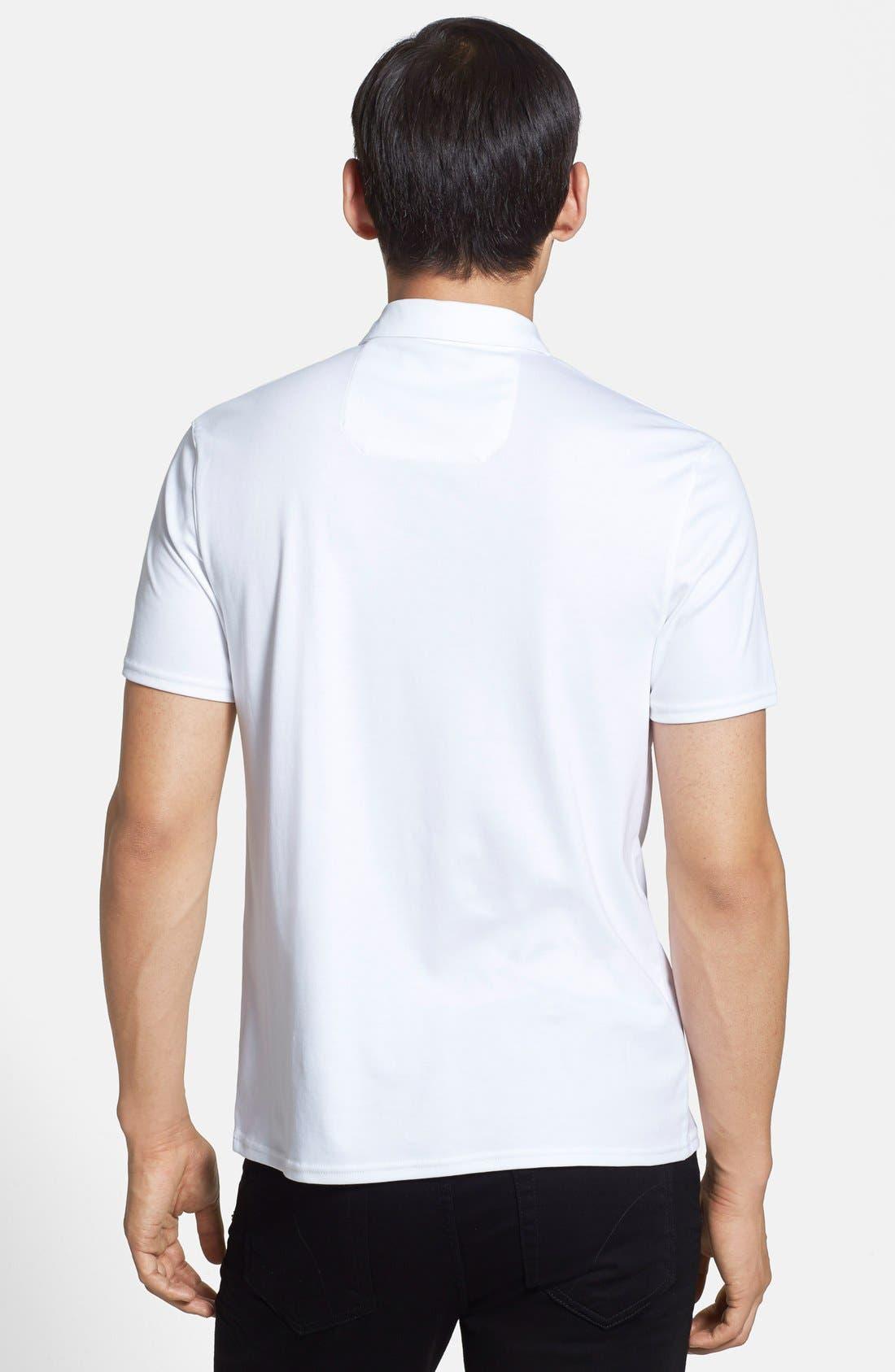Alternate Image 2  - Vince Camuto 'Crest' Slim Fit Polo
