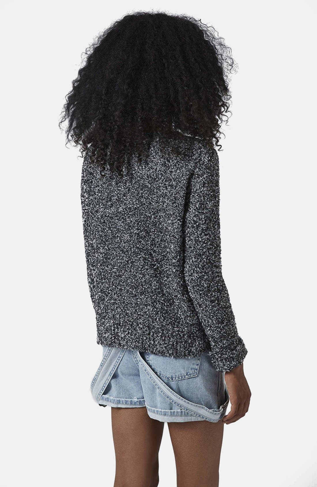 Alternate Image 2  - Topshop Slouchy Bouclé Sweater