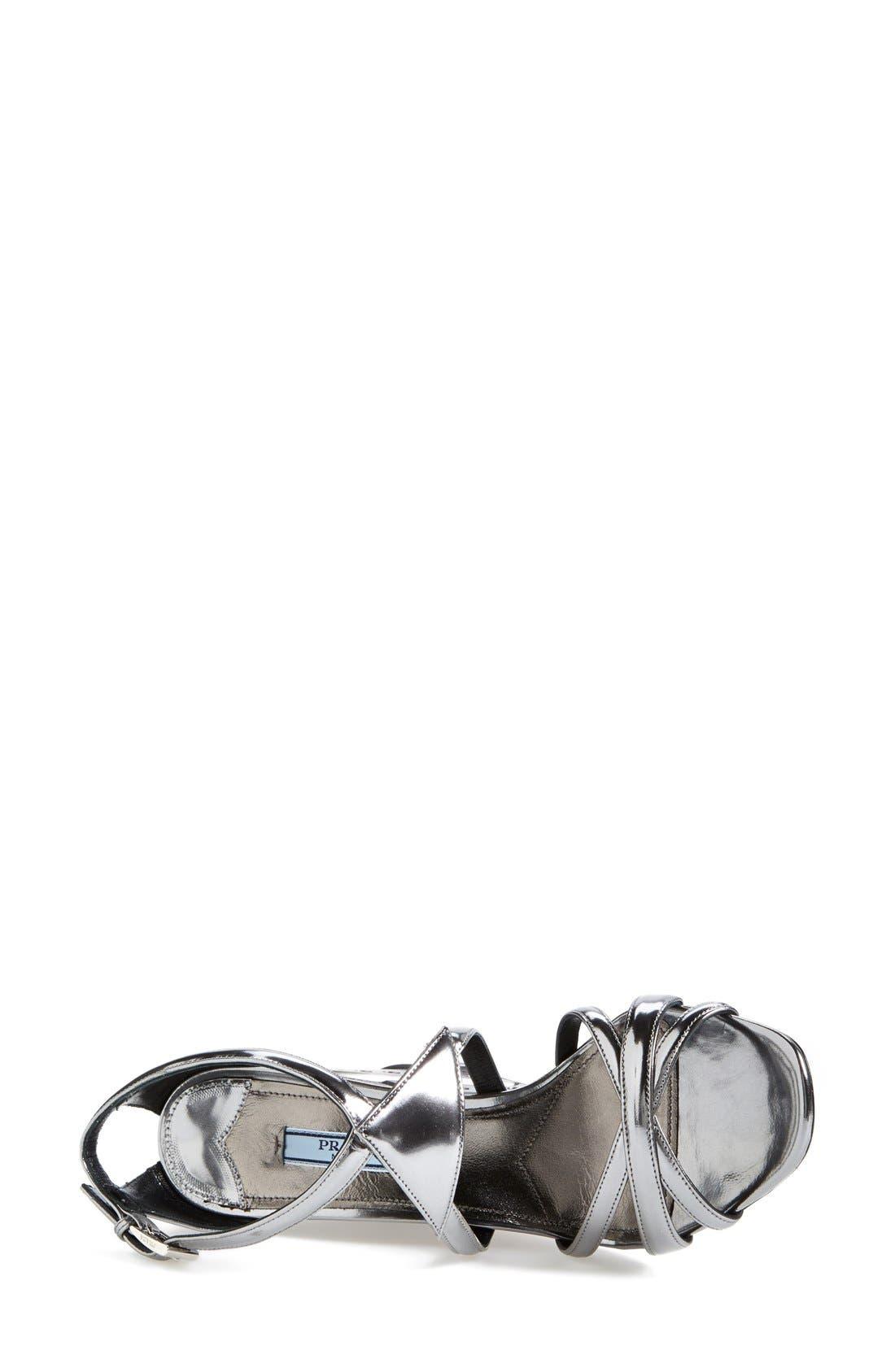 Alternate Image 3  - Prada Leather Wedge (Women)