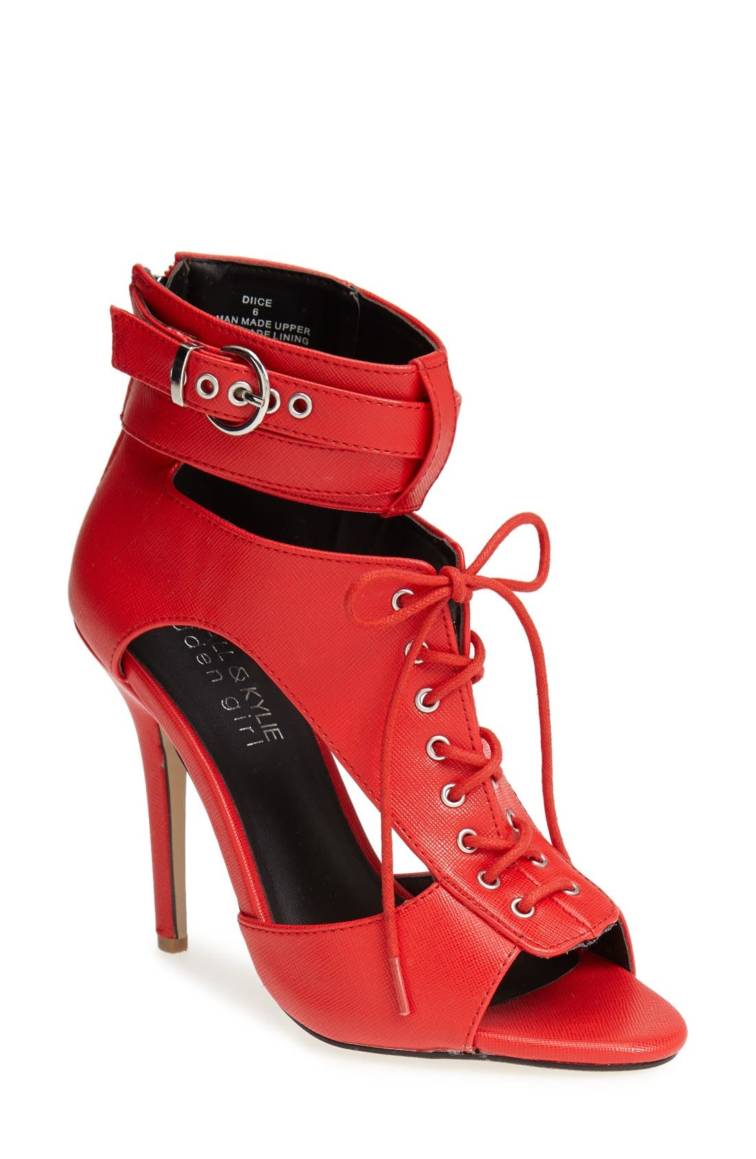 Main Image - KENDALL + KYLIE Madden Girl 'Diice' Ankle Cuff Sandal (Women)