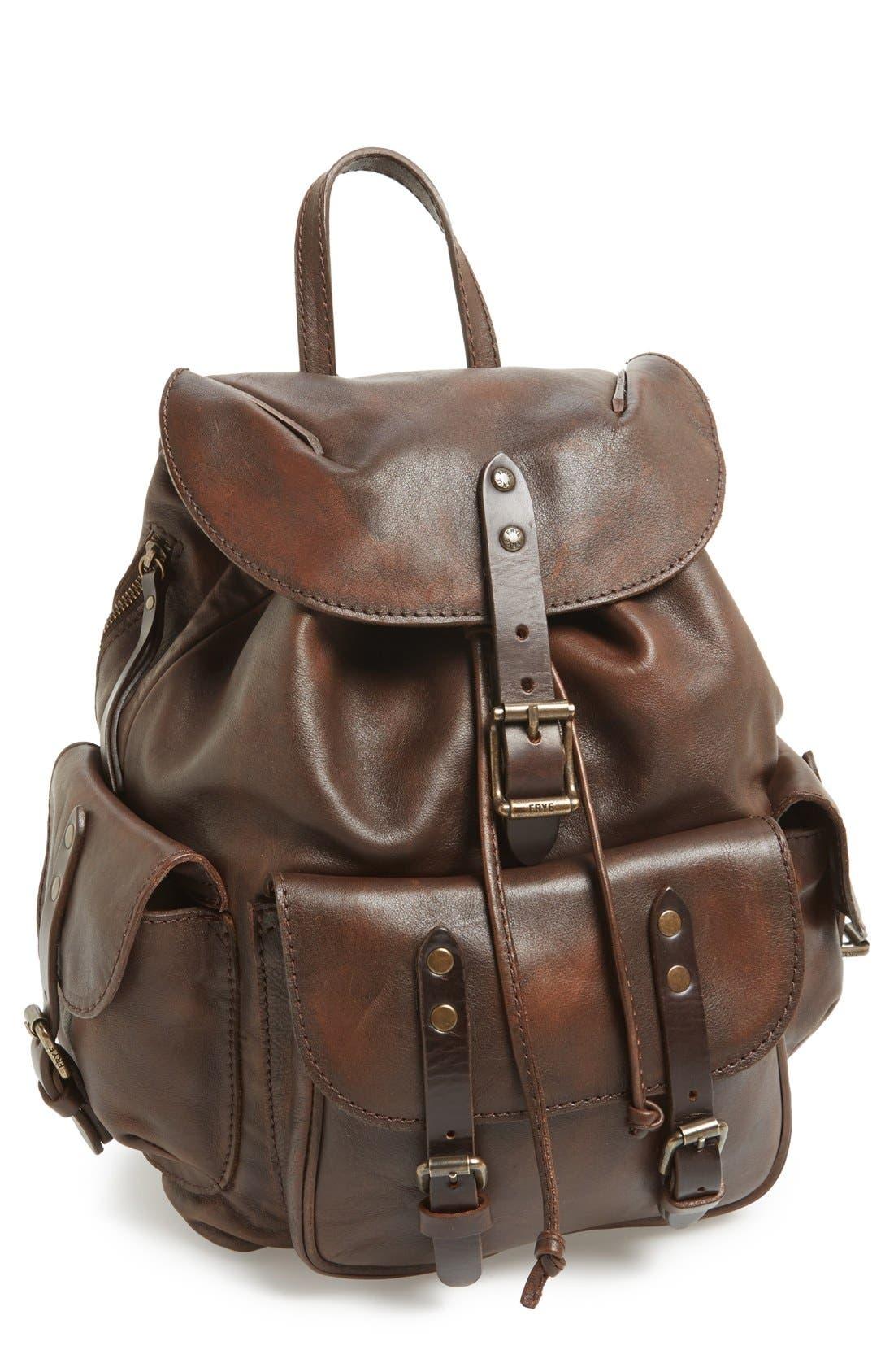 Alternate Image 1 Selected - Frye 'Veronica' Leather Backpack