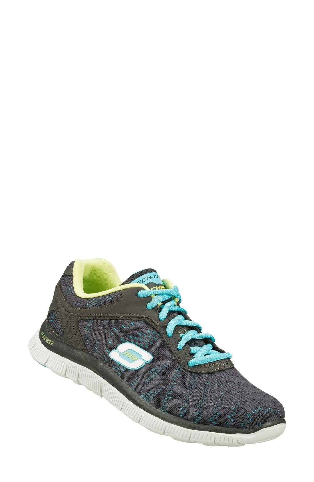 Alternate Image 1 Selected - SKECHERS 'Flex Appeal - First Glance' Walking Shoe (Women)