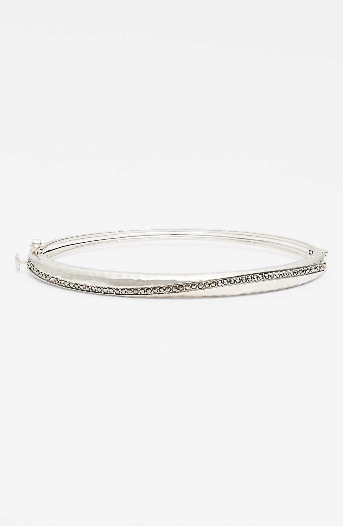 Alternate Image 1 Selected - Judith Jack 'Halo' Hinged Bangle