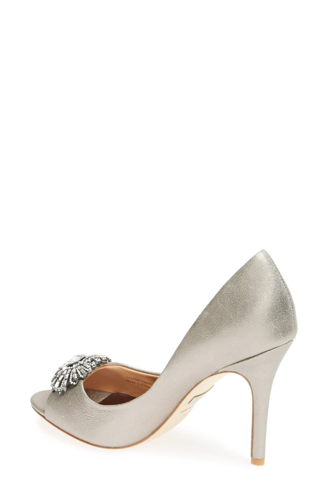 Alternate Image 2  - Badgley Mischka 'Hollie' Pump (Women)