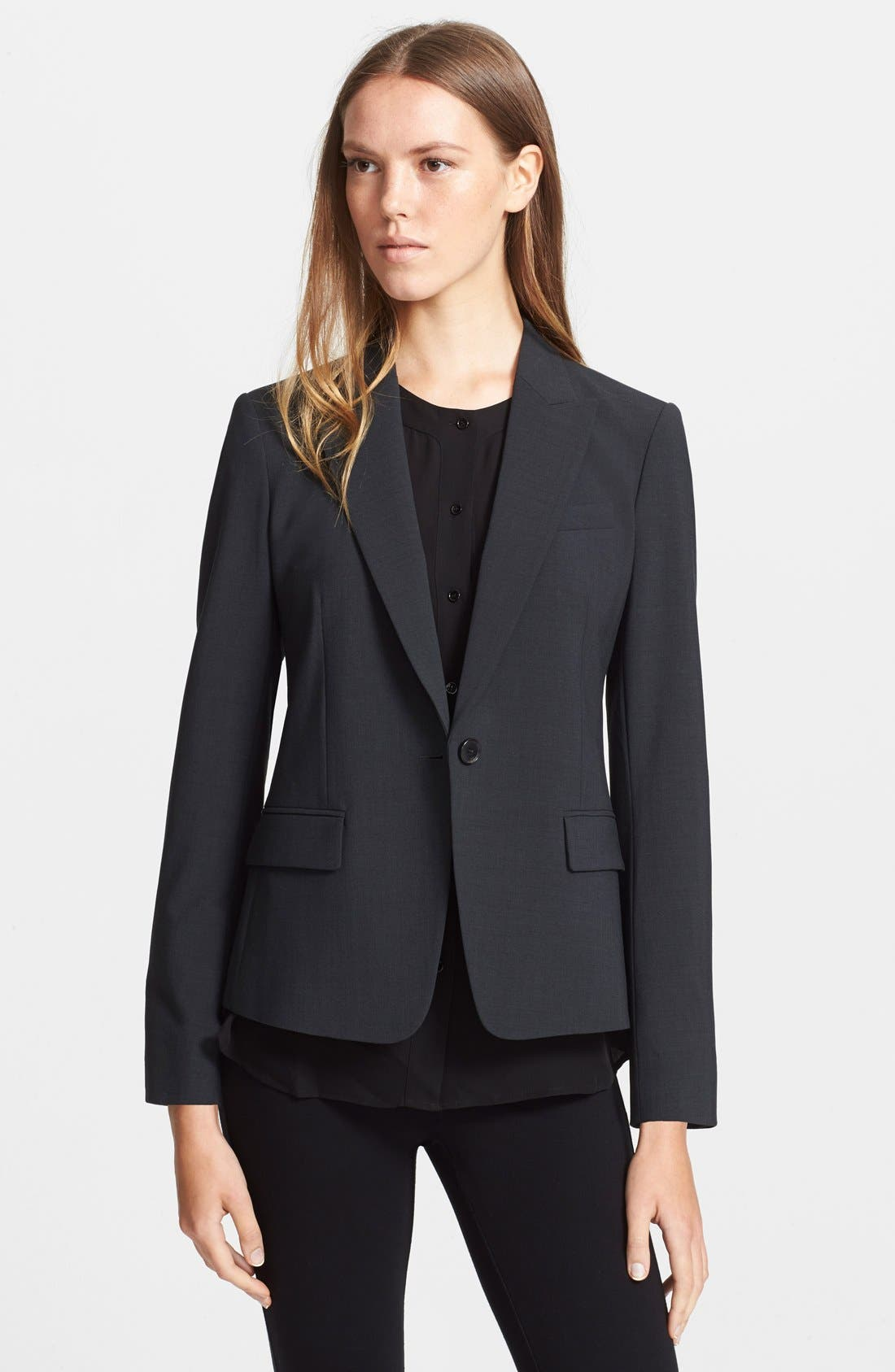Alternate Image 1 Selected - Theory 'Gabe B.2' Stretch Wool Blazer
