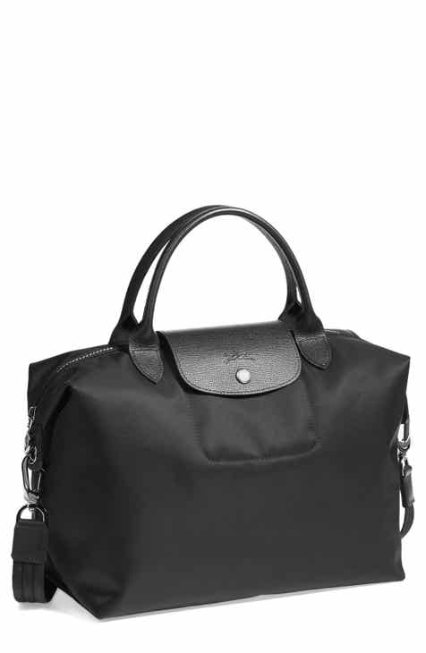 Longchamp  Medium Le Pliage Neo  Nylon Top Handle Tote 51994cb3a9455