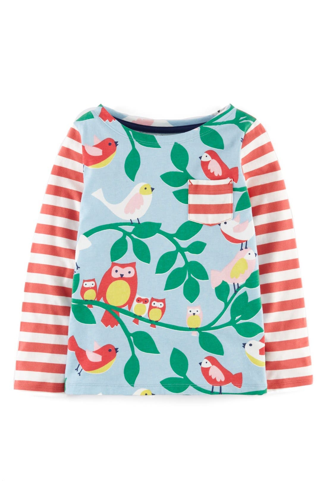 Main Image - Mini Boden Hotchpotch Tee (Toddler Girls, Little Girls & Big Girls)