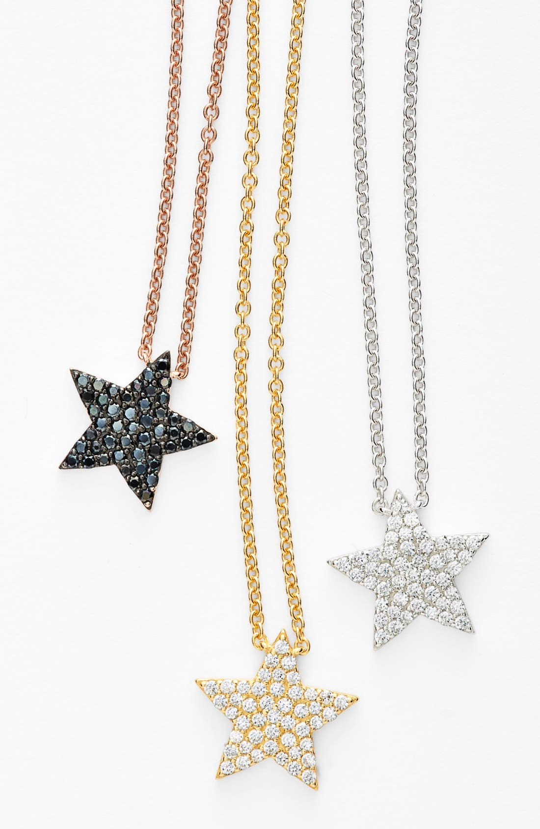 Alternate Image 3  - Sugar Bean Jewelry Star Pendant Necklace