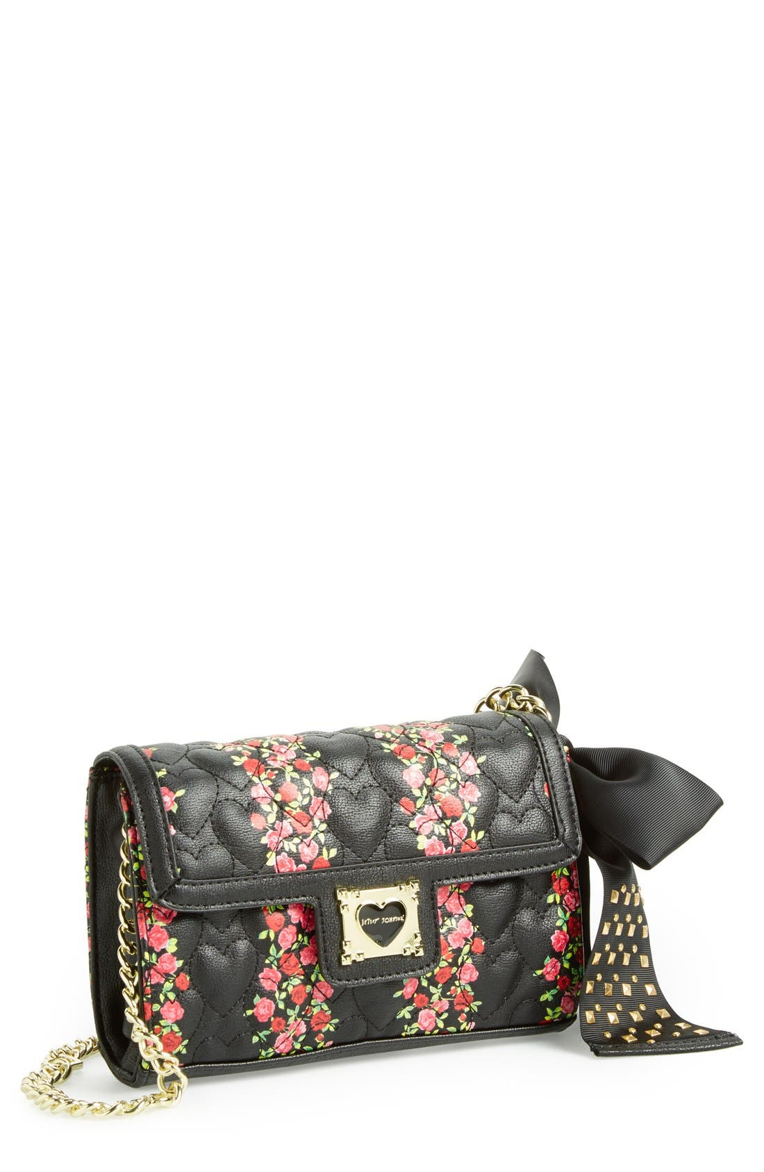 Alternate Image 1 Selected - Betsey Johnson 'Be My Sweetheart' Crossbody Bag