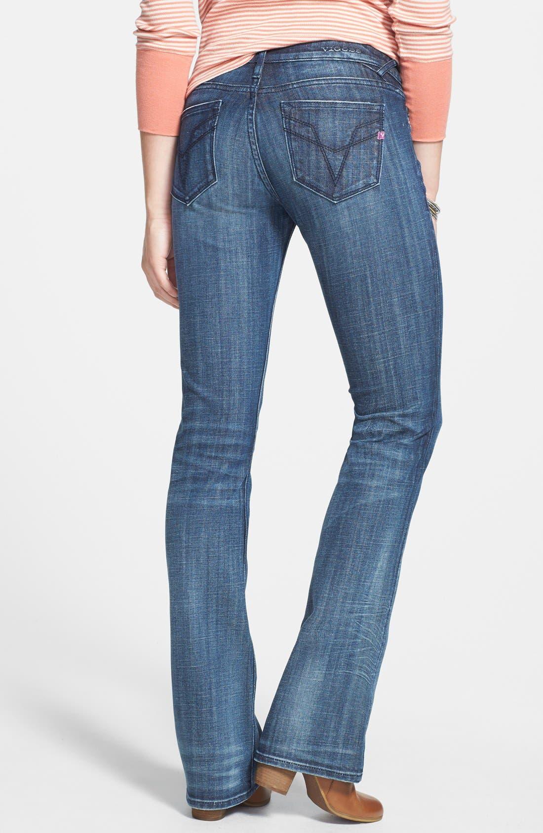 Alternate Image 2  - Vigoss 'Chelsea' Bootcut Jeans