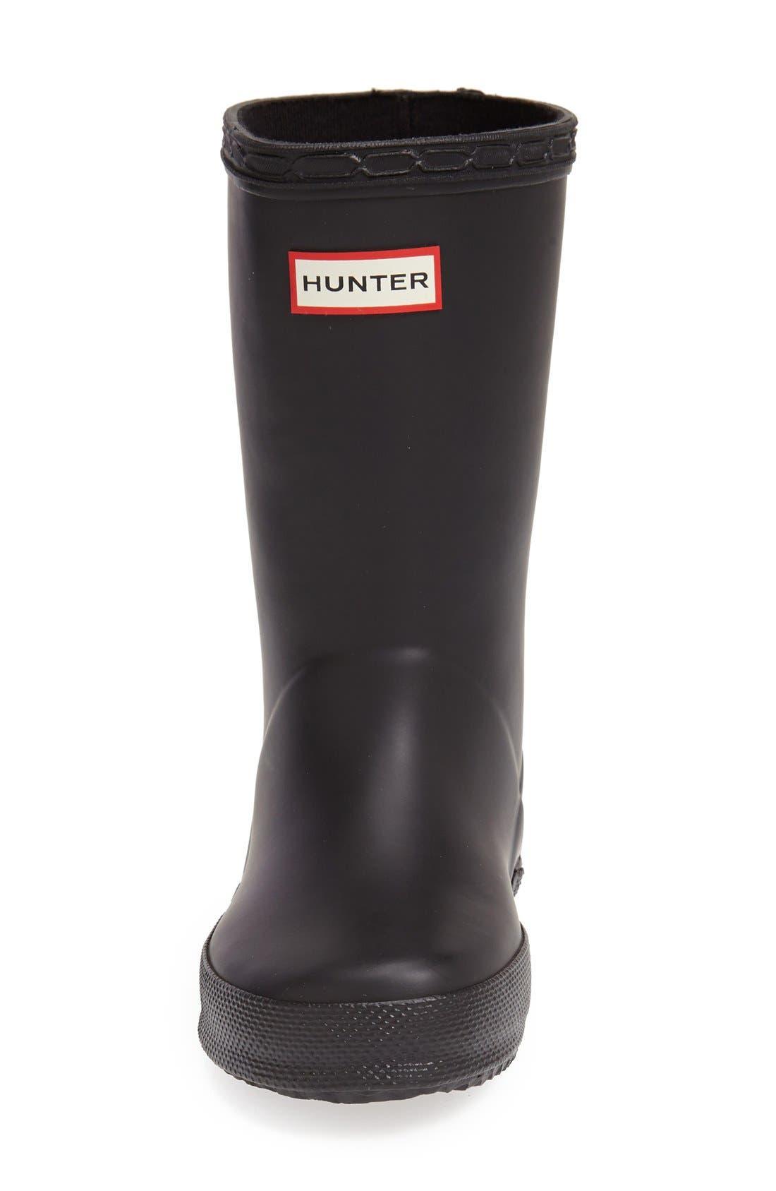 Alternate Image 3  - Hunter 'First Classic' Rain Boot (Walker, Toddler & Little Kid)