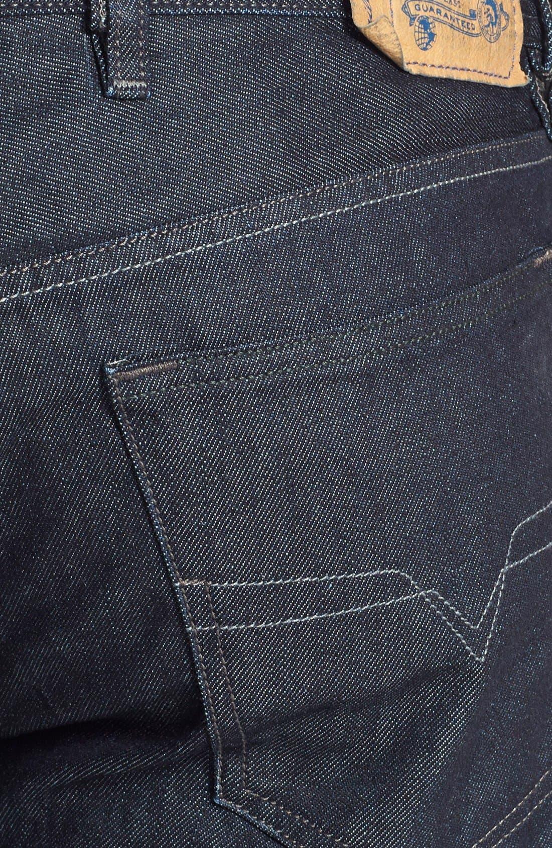 Waykee Straight Leg Jeans,                             Alternate thumbnail 4, color,                             0Z88