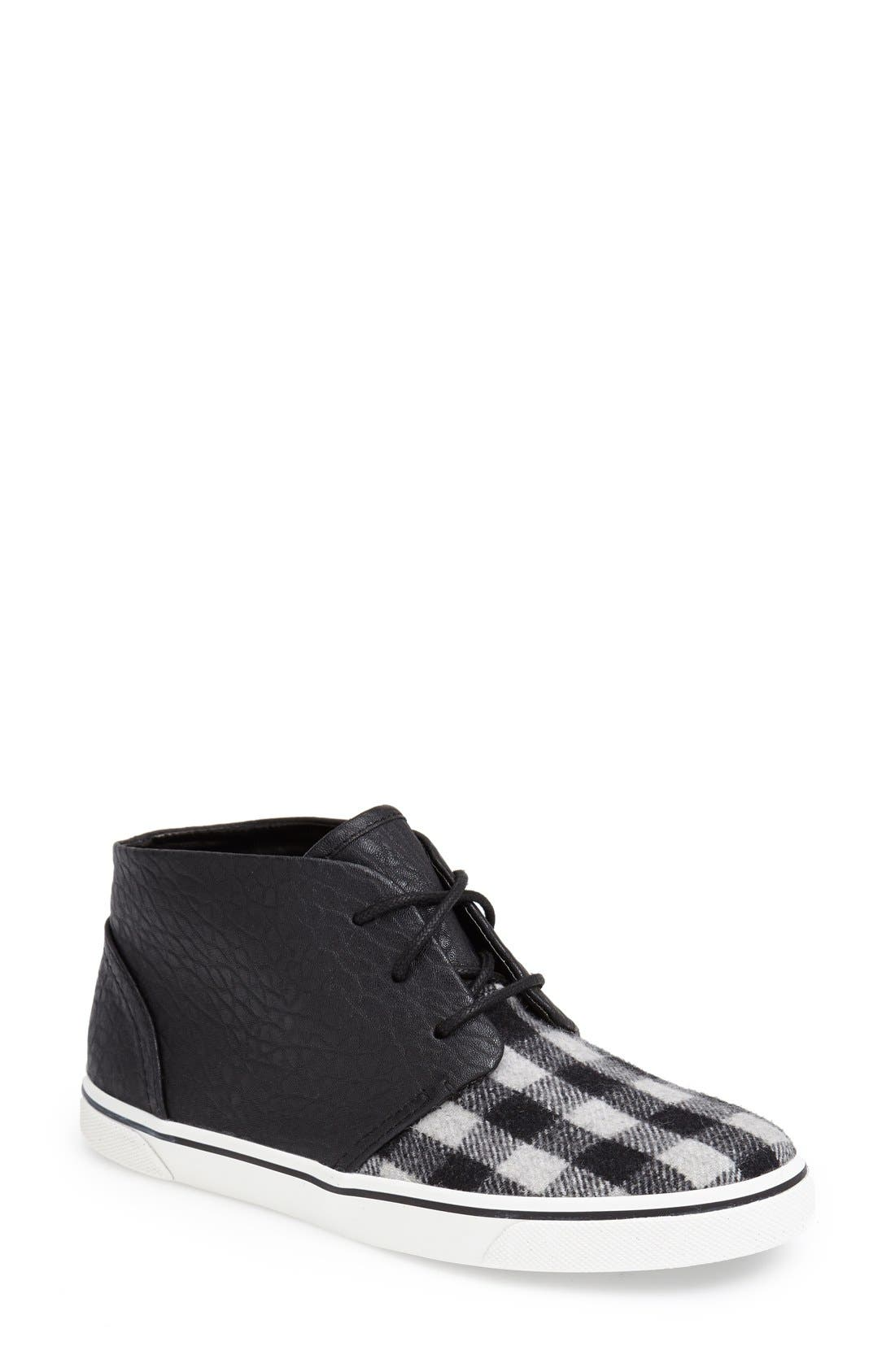 DV by Dolce Vita 'Giaa' Sneaker,                         Main,                         color, Charcoal/ Black