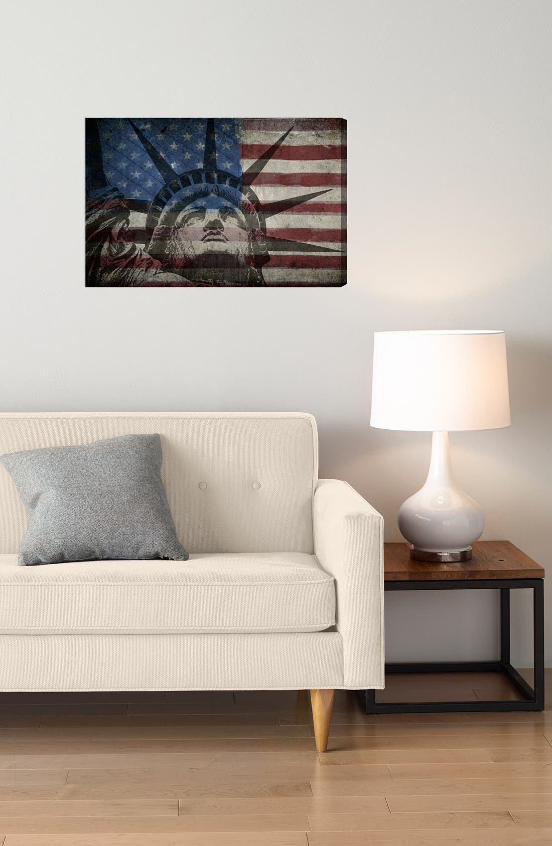 Alternate Image 2  - Oliver Gal 'Statue of Liberty' Wall Art