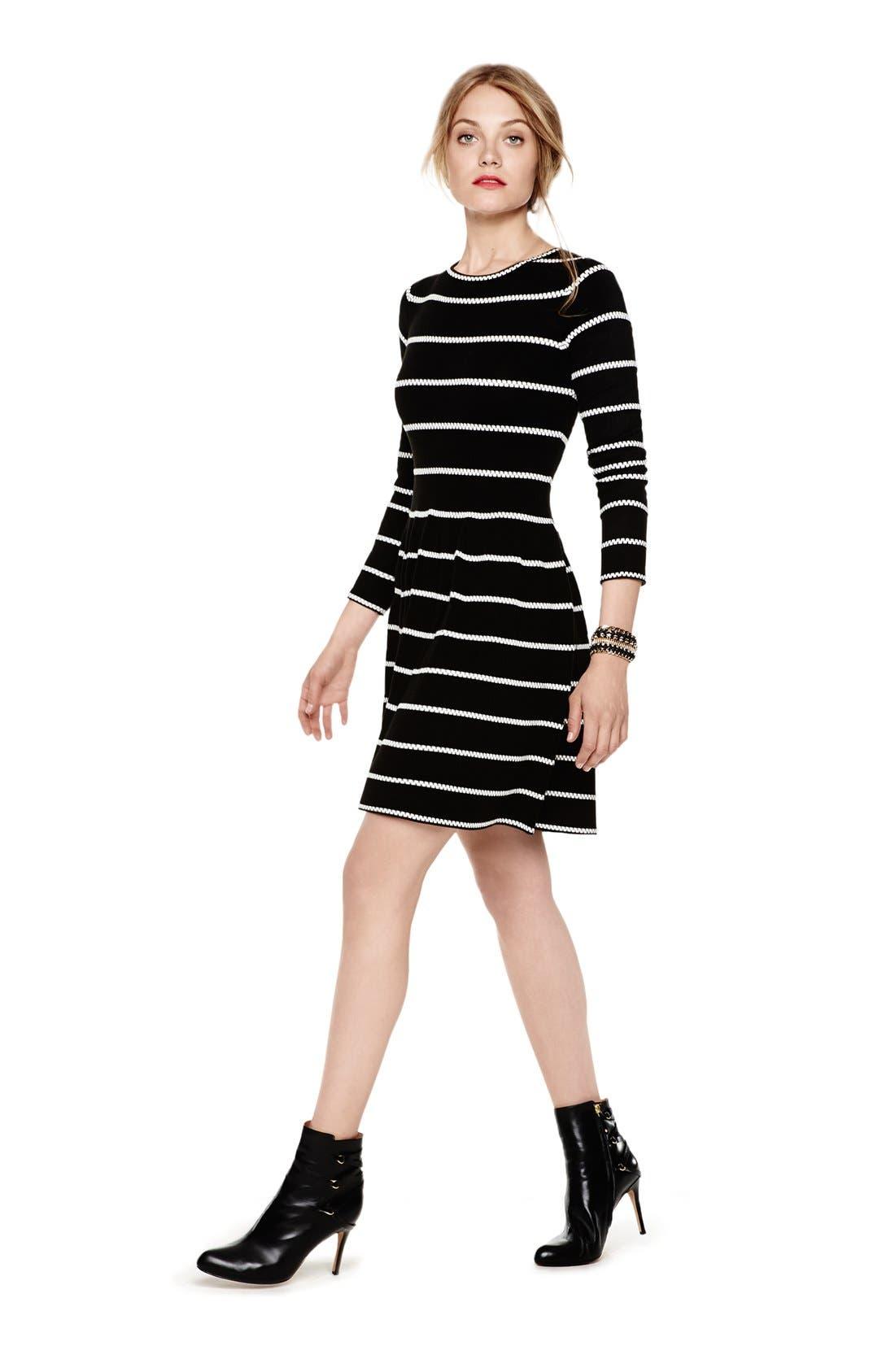 Alternate Image 6  - Eliza J Knit Fit & Flare Dress
