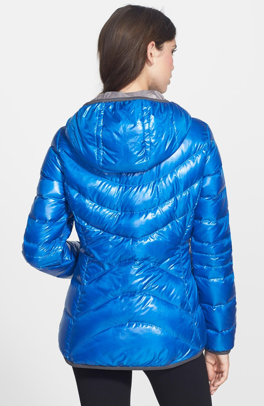 Alternate Image 2  - Lole 'Elena 3' Quilted Downglow Hooded Jacket