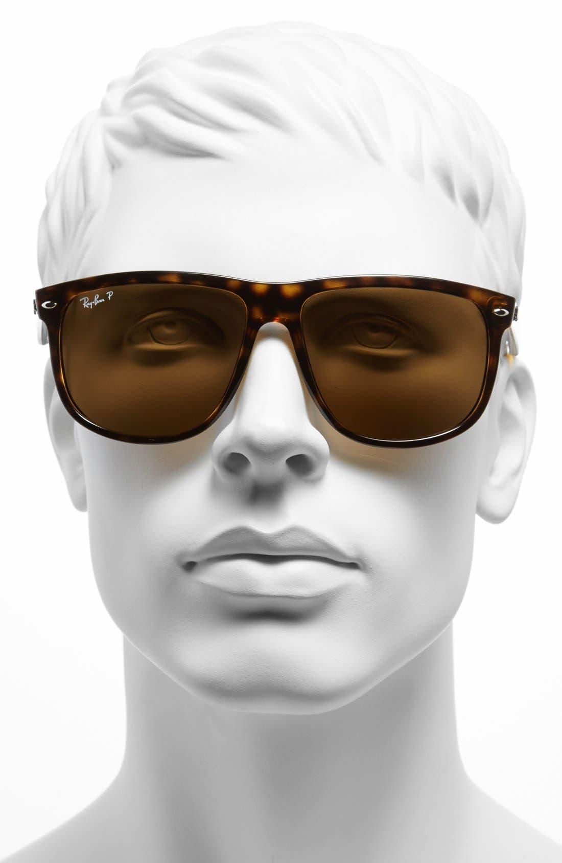 Alternate Image 2  - Ray-Ban 'Boyfriend' 60mm Polarized Sunglasses
