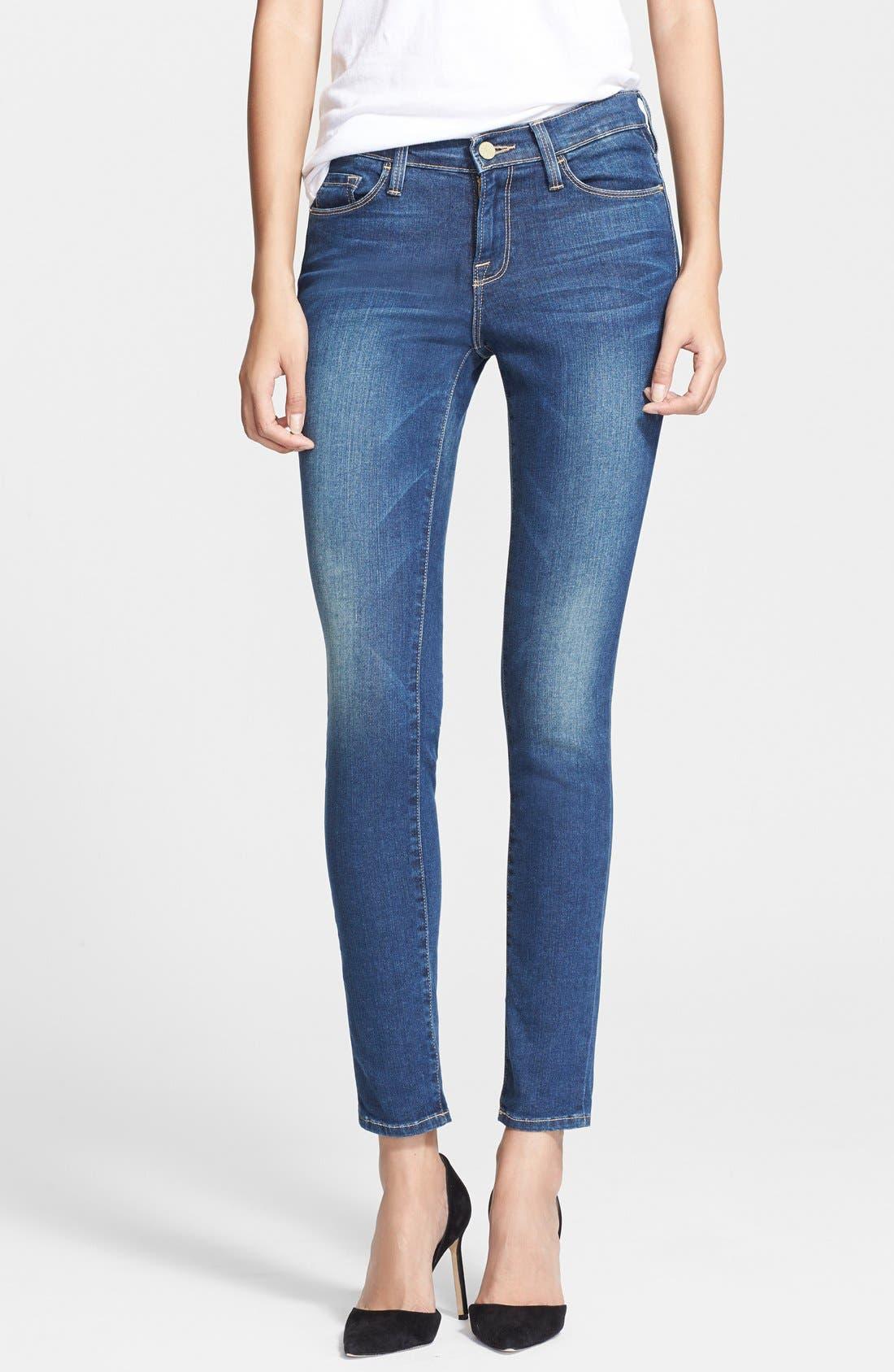 Main Image - Frame Denim 'Le Skinny de Jeanne' Jeans (Columbia Road)